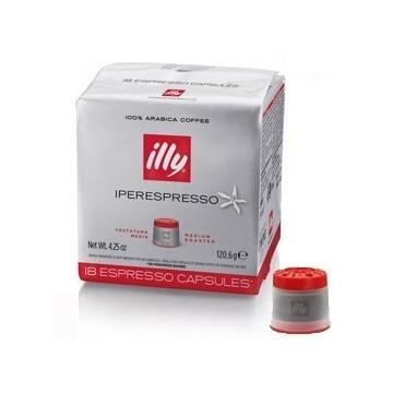 Illy Iperespresso Tostatura Media Rosso (18 capsule)