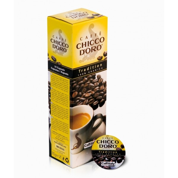 Caffitaly Chicco d'oro Tradition