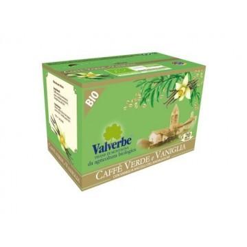 Infuso Caffè Verde e Vaniglia Valverbe Bio