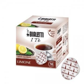 Bialetti Te al Limone in foglia (12 capsule) - I caffè d'Italia
