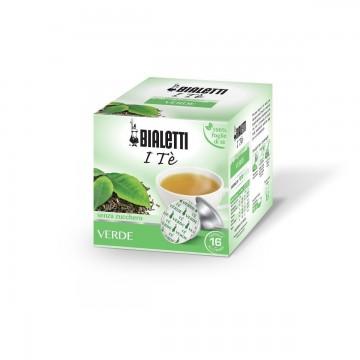 Bialetti Te Verde in foglia (12 capsule) - I caffè d'Italia