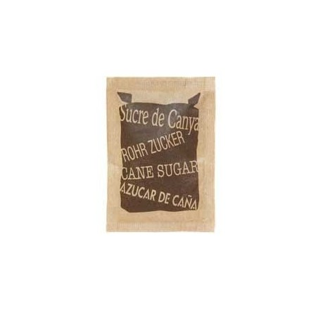 54 Bustine Zucchero di Canna 4 grammi