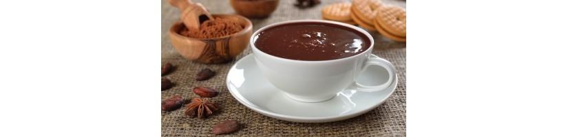Cioccolate in bustina artigianali semplice e aromatizzate